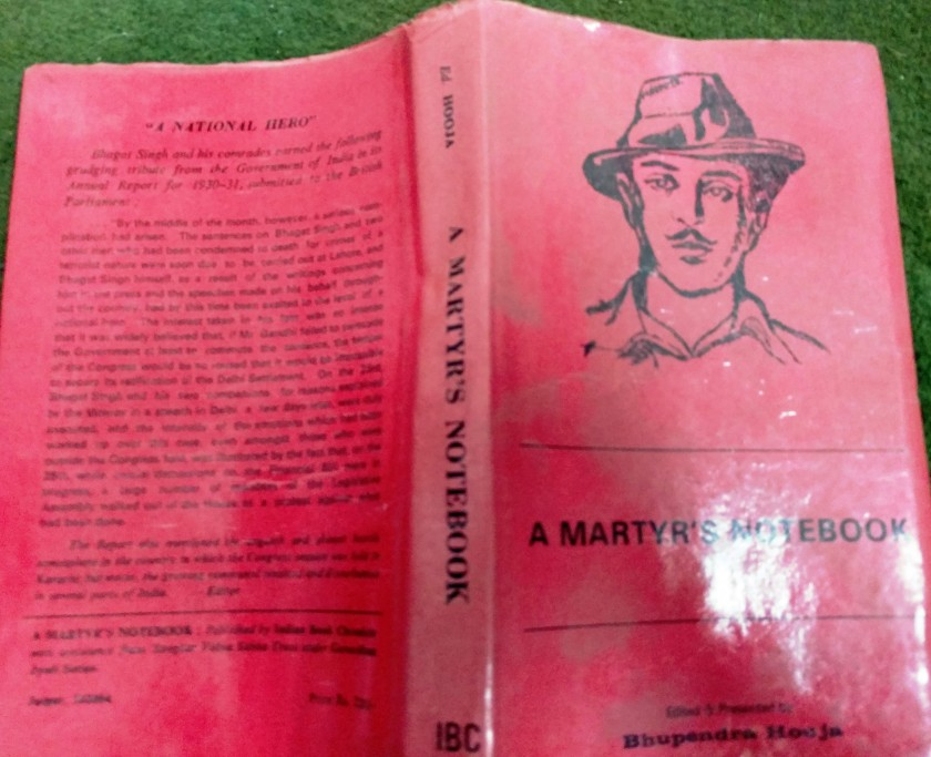 a short publication history of bhagat singh s jail notebook  a short publication history of bhagat singh s jail notebook